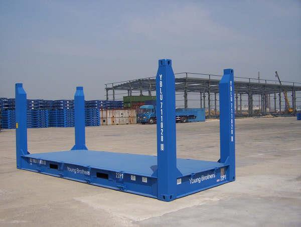 Flat rack 20 feet